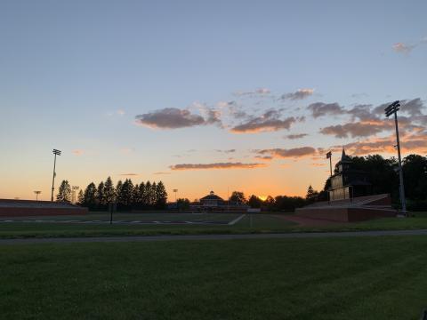 Pratt Field at Sunset