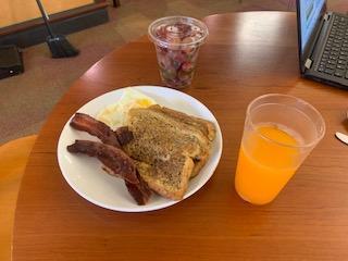 Breakfast at Val