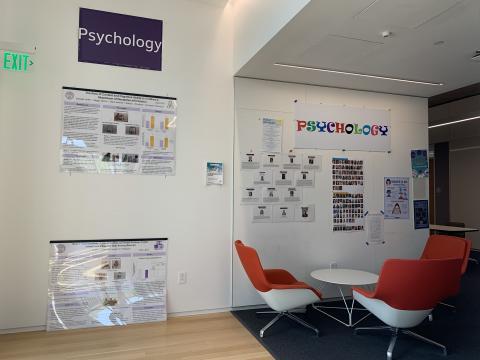 Psychology Department Entrance