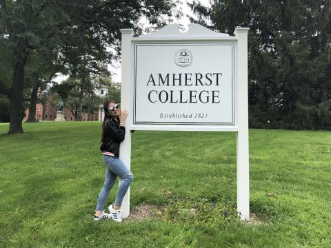 First Day at Amherst!