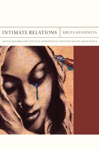 "Cover for book ""Intimate Relations"" by Krupa Shandilya"