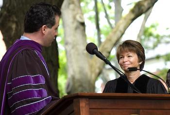 Valerie Bowman Jarrett, Doctor of Humane Letters