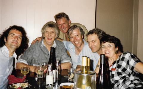 Jean-Paul Delamotte and friends