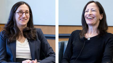 Jen Acker and Deb Treisman