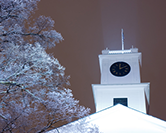 Johnson Chapel in snow