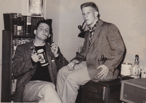 Kent Owen and Bob Leach