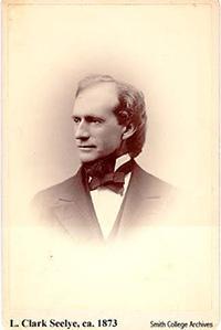Laurenus Clark Seelye, ca. 1873