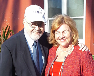 Lee '49 and Susan Redfield