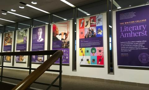 Literary Amherst exhibit