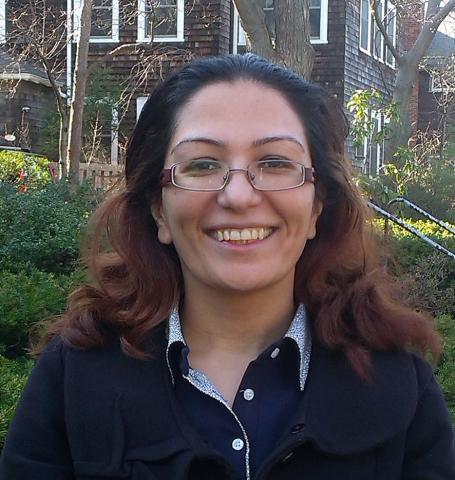 Head shot of Maryam Kamali