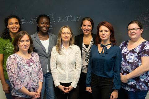 Math and Stats women