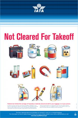 Not Cleared for Take-Off Poster