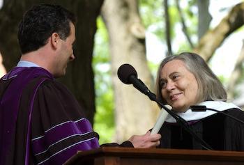Marilynne Robinson, Doctor of Literature