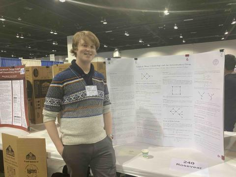 Andrew Rosevear's poster at JMM 2020