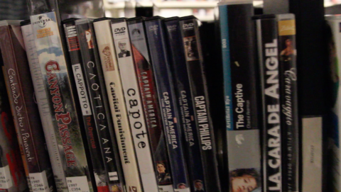 Captain America DVDs