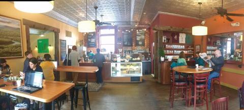 Inside of Share Coffee