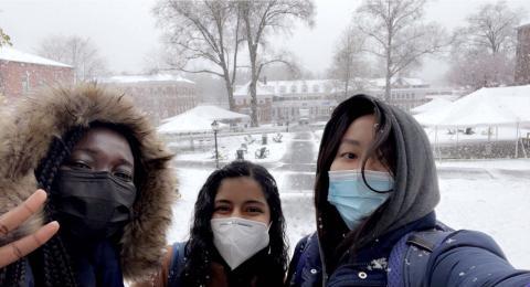 Snow at Chapin!