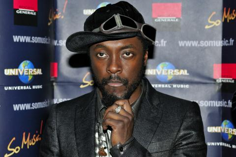 Will.I.Am, the front-man for the Black Eyed Peas