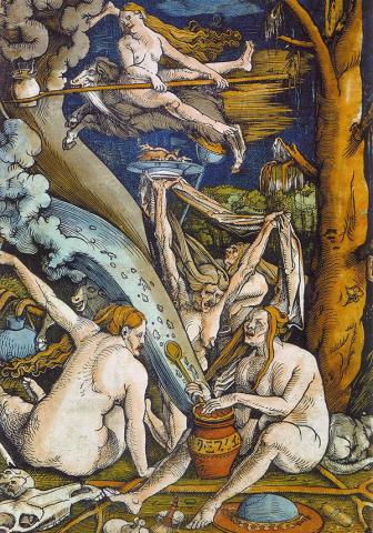 Witches by Hans Baldung