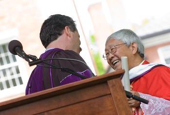 Cardinal Joseph Zen, SDB, Doctor of Humane Letters