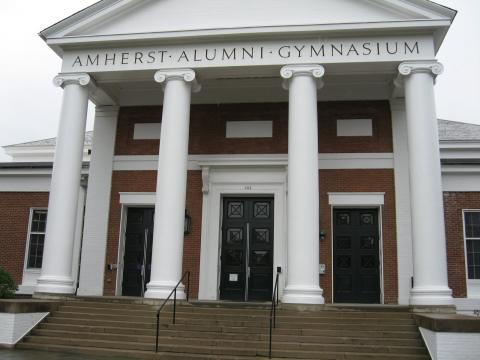 Alumni gym front entrance