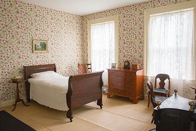 Emily Dickinson's bedroom