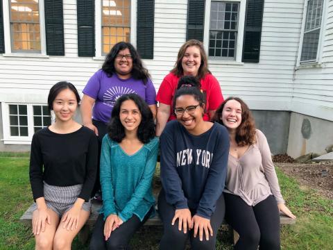 financial aid peer ambassadors group photo 2018-19