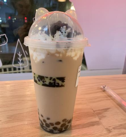 My bubble tea from town!