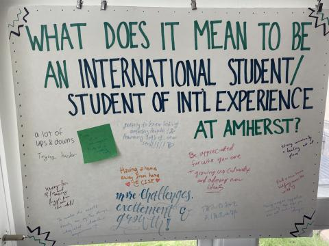 What is it like to be an international student here?