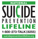 National Suicide Prevention Hotline 1-800-273-TALK