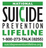 National Suicide Prevention Hotline 1-800-273-TALK