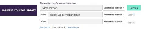 Primary Source Catalog Search