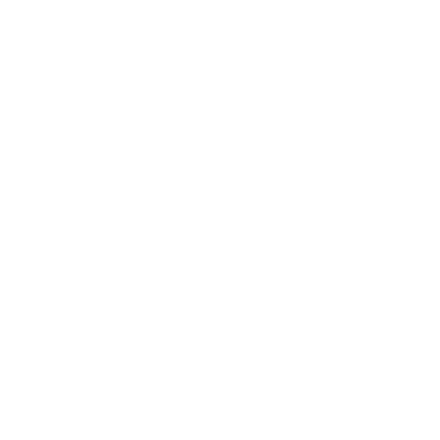 three abstract figures connected within a circle