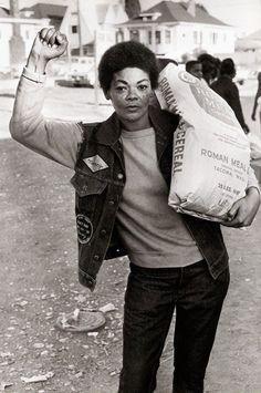 bp woman cereal bag