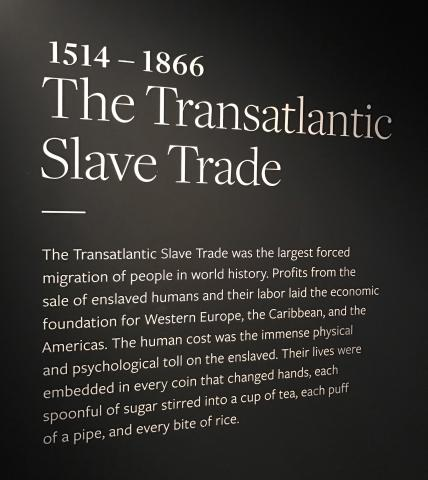 panel on slave trade
