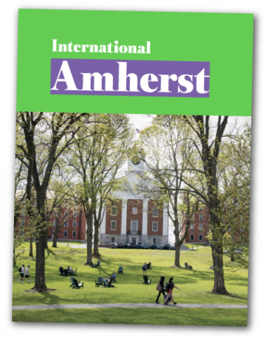 download PDF of International Amherst booklet