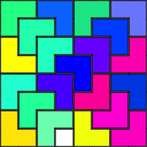 An Inductive Solution to the 8x8 Tromino puzzle.