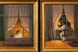 Emily Dickinson Paintings