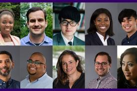 Some of the new faculty joining Amherst College in 2018