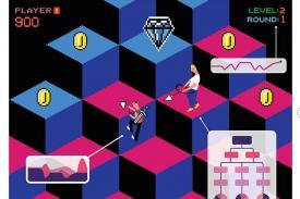 Video game illustration by Mengxin Li