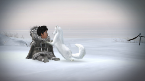 Screen shot from video game: Never Alone neveralonegame.com