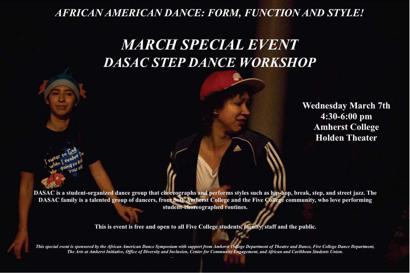 2019-2020 Season Events | African American Dance Symposium
