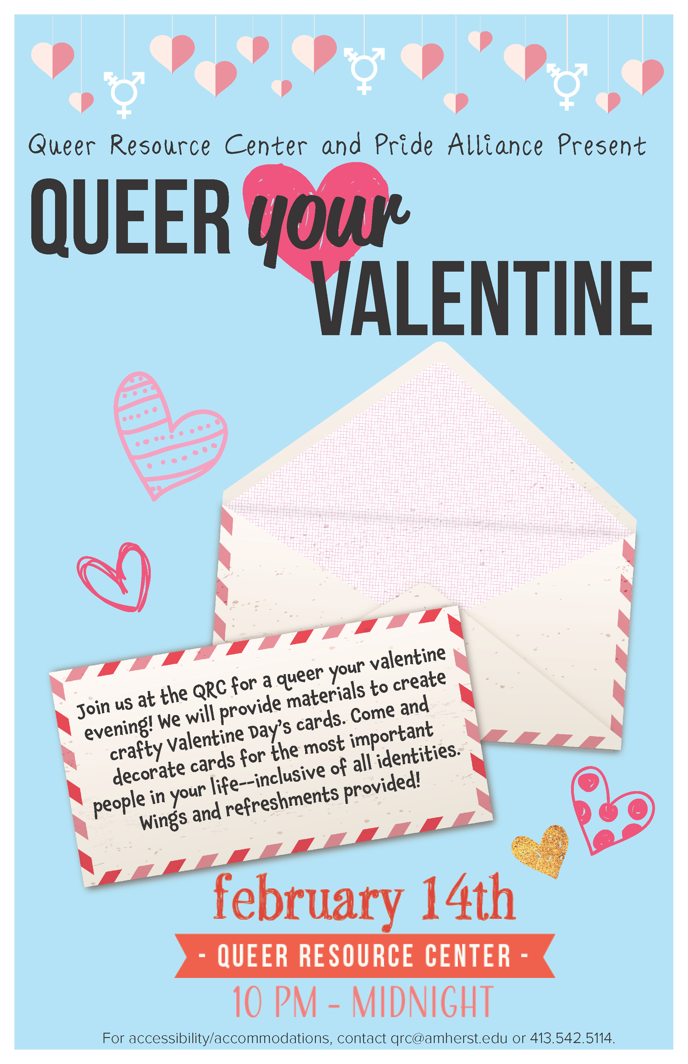 Event Calendar Queer Your Valentine Amherst College
