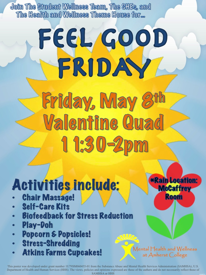 Feel Good Friday: Free Chair Massage, Yummy Snacks And Giveaways!