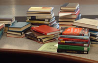 02 Books at the Circulation desk