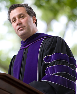 President Anthony W. Marx, Commencement 2009