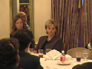Donna Neff and Lynne Cheney