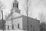Small.College Hall winter 1905