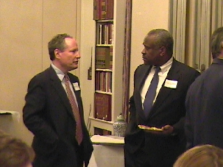 Bill Kristol and Clarence Thomas