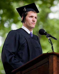 Marshall Nannes '09, Senior Class Speaker